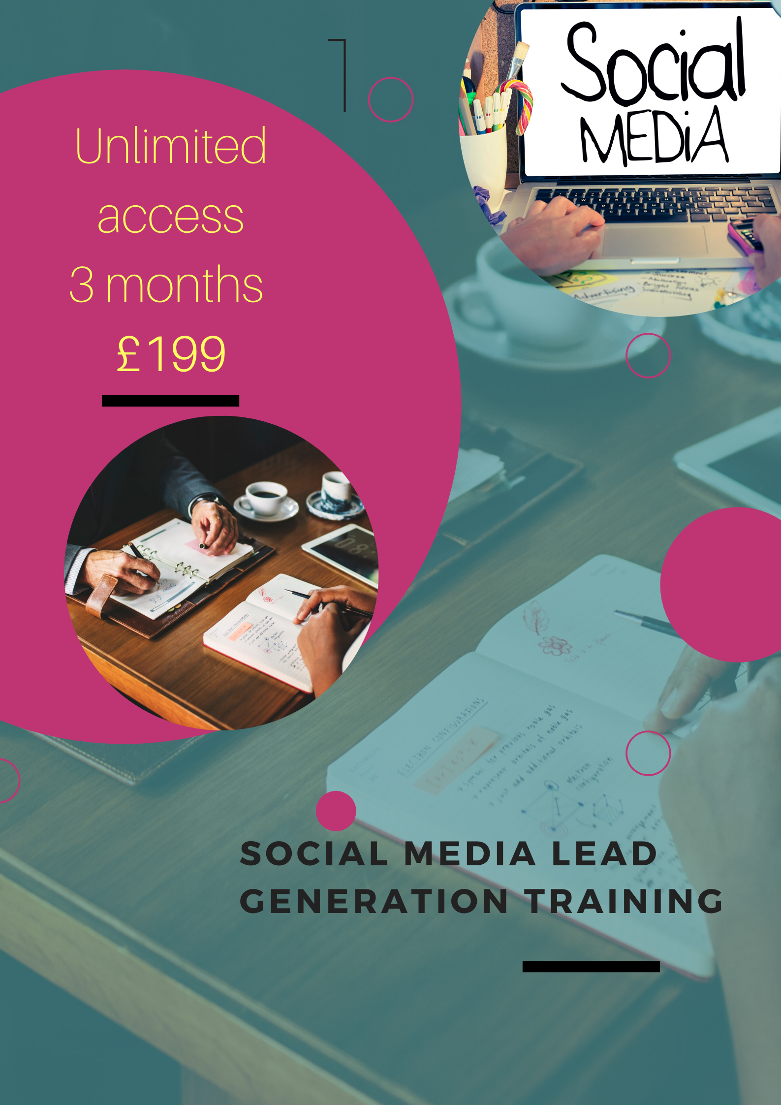 social media and sales funnel training